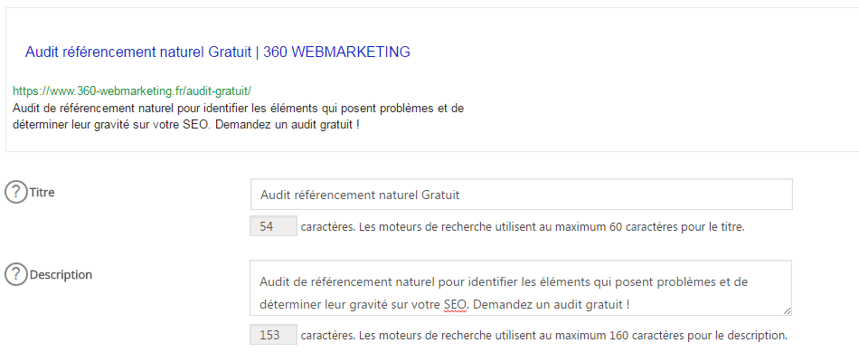 referencement site wordpress dans Google