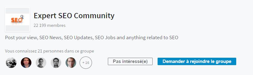 LinkedIn groupe