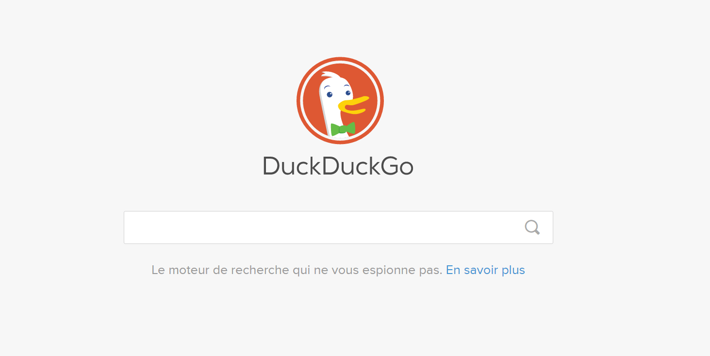 DuckDuckGo: moteur de recherche alternatif à google