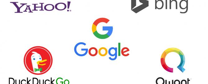 Top 5 des moteurs de recherche alternatifs à Google